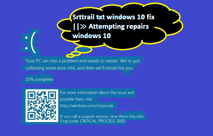srttrail txt windows 10 fix